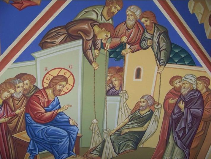 Евангелие об исцелении расслабленного. Неделя вторая Великого поста
